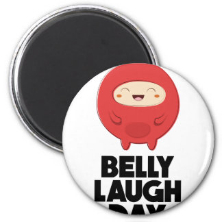 Twenty-fourth January - Belly Laugh Day Magnet