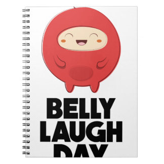 Twenty-fourth January - Belly Laugh Day Notebooks
