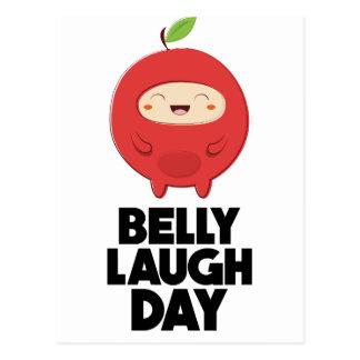 Twenty-fourth January - Belly Laugh Day Postcard