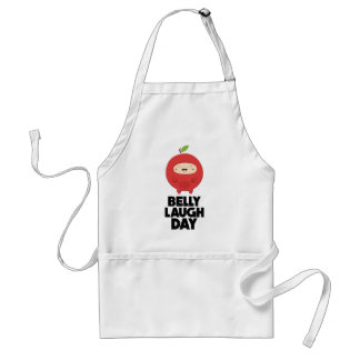 Twenty-fourth January - Belly Laugh Day Standard Apron
