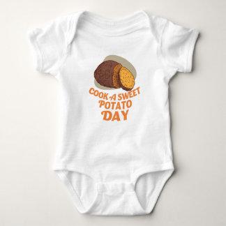 Twenty-second February - Cook a Sweet Potato Day Baby Bodysuit