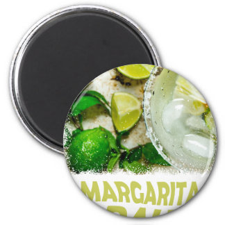 Twenty-second February - Margarita Day 2 Inch Round Magnet