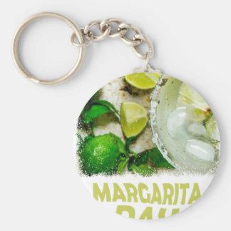 Twenty-second February - Margarita Day Basic Round Button Keychain