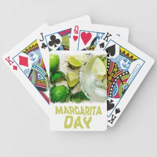 Twenty-second February - Margarita Day Bicycle Playing Cards
