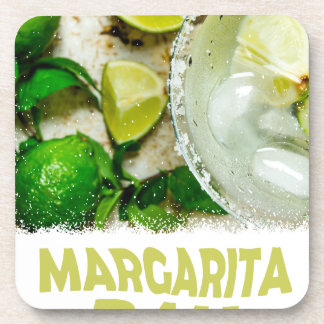 Twenty-second February - Margarita Day Coaster