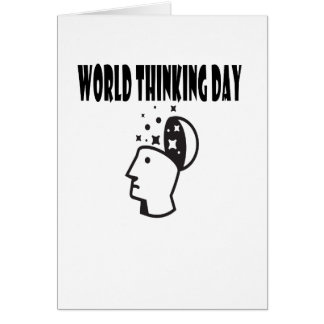 Twenty-second February - World Thinking Day Card
