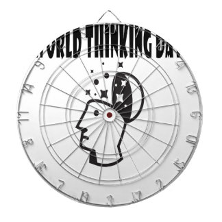 Twenty-second February - World Thinking Day Dartboard