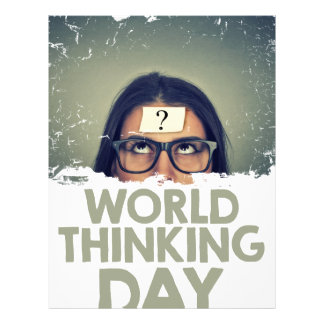 Twenty-second February - World Thinking Day Letterhead