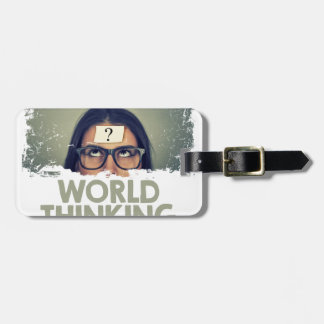 Twenty-second February - World Thinking Day Luggage Tag