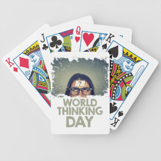 Twenty-second February - World Thinking Day Poker Deck