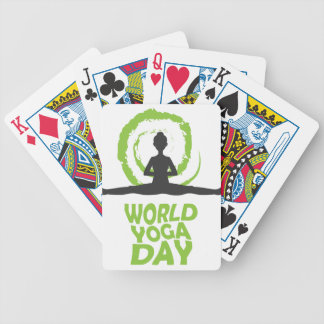 Twenty-second February - World Yoga Day Poker Deck