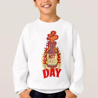 Twenty-second January - Hot Sauce Day Sweatshirt
