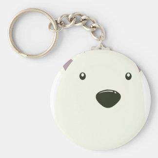 Twenty-seventh February - Polar Bear Day Basic Round Button Keychain