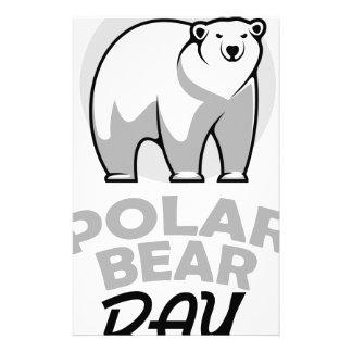 Twenty-seventh February - Polar Bear Day Stationery