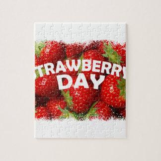 Twenty-seventh February - Strawberry Day Jigsaw Puzzle