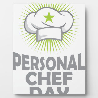 Twenty-sixth February - Personal Chef Day Plaque