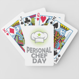 Twenty-sixth February - Personal Chef Day Poker Deck