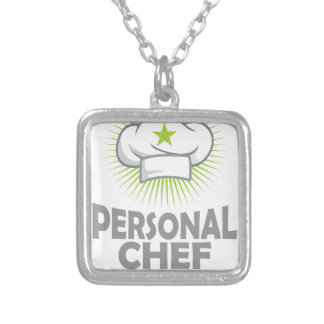 Twenty-sixth February - Personal Chef Day Silver Plated Necklace