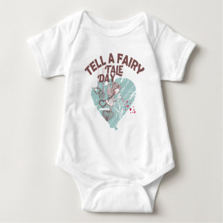 Twenty-sixth February - Tell A Fairy Tale Day Baby Bodysuit