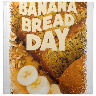 Twenty-third February - Banana Bread Day Napkin