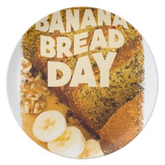 Twenty-third February - Banana Bread Day Plate
