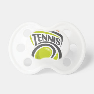 Twenty-third February - Play Tennis Day Baby Pacifiers