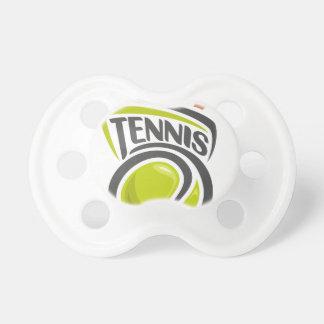 Twenty-third February - Play Tennis Day Baby Pacifiers