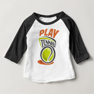 Twenty-third February - Play Tennis Day Baby T-Shirt