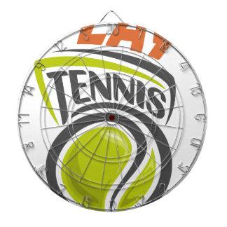 Twenty-third February - Play Tennis Day Dartboard