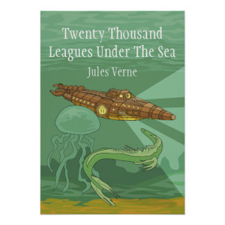 Twenty Thousand Leagues Under The Sea- Jules Verne Poster