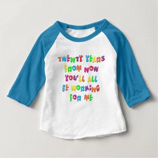 Twenty Years From Now Baby T-Shirt