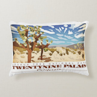 Twentynine Palms Califorina Decorative Pillow
