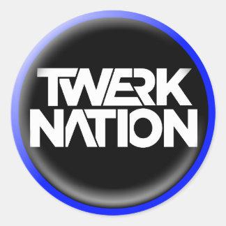 Twerk Nation Sticker 2017