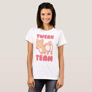 Twerk Team Corgi Tshirt