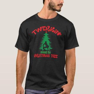 Twerkin around the Christmas Tree T-Shirt