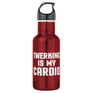 Twerking Is My Cardio Funny Gym Quote 532 Ml Water Bottle