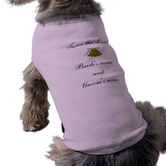 TWICE THE LOVE! - pet shirt