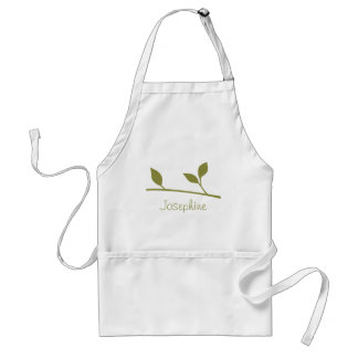 Twig and Leaf Standard Apron