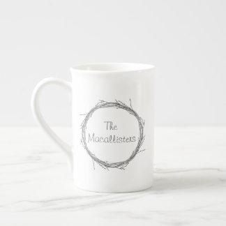Twigs & Vines Tea Cup
