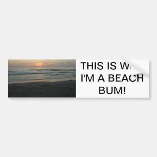 TWILIGHT AT IMPERIAL BEACH CALIFORNIA BUMPER STICKER
