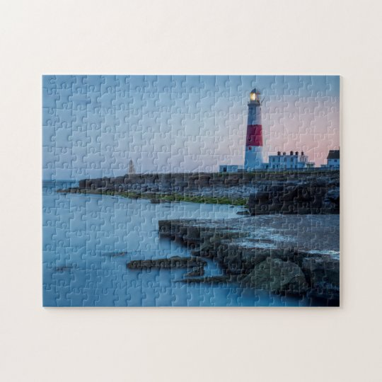 Twilight at the Portland Bill Lighthouse Jigsaw Puzzle