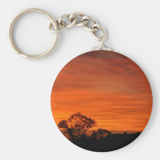 twilight basic round button keychain