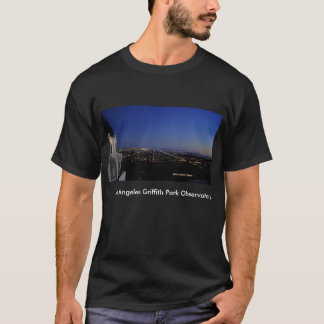 Twilight City Lights Observatory T-Shirt
