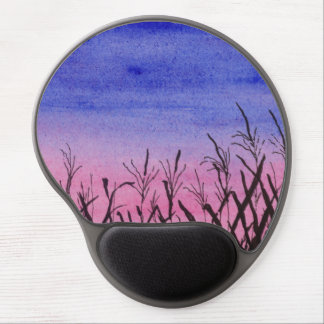 Twilight Corn Field Gel Mouse Pad