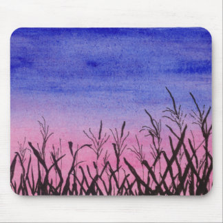 Twilight Corn Field Mouse Pad