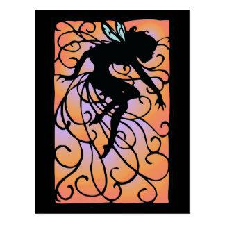 Twilight Fairy Post Card