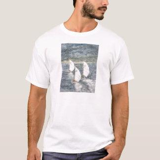 Twilight Finish - mixed media T-Shirt