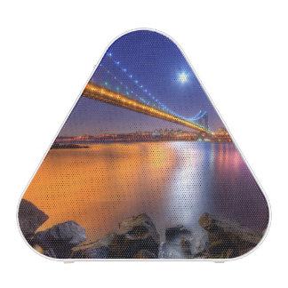 Twilight, George Washington BridgePalisades, NJ. Speaker