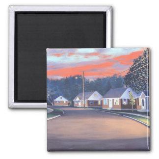 Twilight Glow 1997 Square Magnet