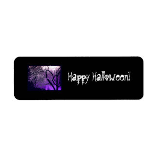 Twilight haze, Avery Label Return Address Label